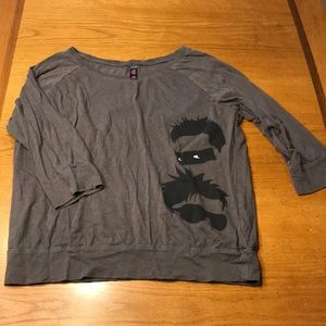 Stephen & Steven tour shirt 2014, gray L